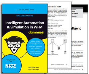 eBook: Intelligent Automation and Simulation in WFM for Dummies Thumbnail