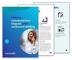 White Paper: Making Conversations Happen with Outbound Dialling Thumbnail