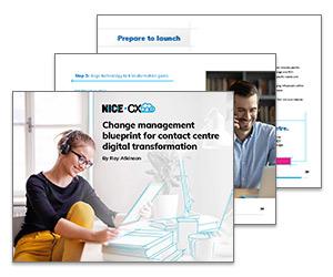 eBook: Change Management Blueprint for Contact Centre Digital Transformation Thumbnail