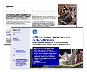 Case Study: HSN Increases Customer Care Center Efficiency Thumbnail