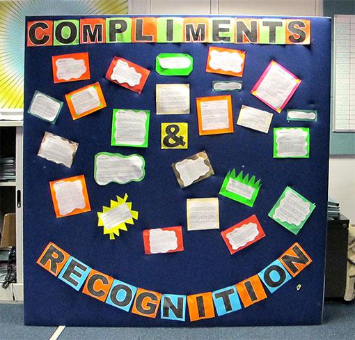 Employee Recognition Bulletin Board Ideas