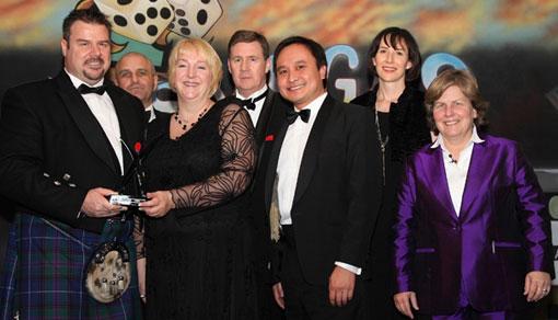Transversal receiving their award