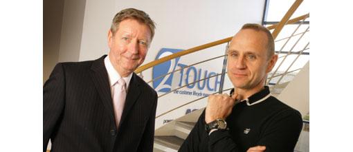 Stuart Gray and Evan Davis