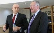 Colin Milligan (Left) and Fergus Ewing