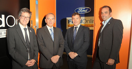 the team at Ford Retail