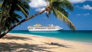 Oceana Cruise Ship in the Caribbean