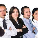 Poitive call centre agents