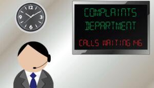 main sitting next to calls waiting wallboard