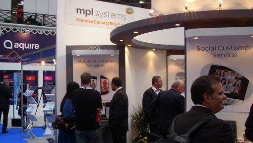 mplsystems stand at CC Expo