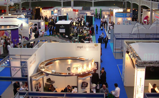 call centre expo arial view