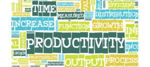 words to describe increased productivity
