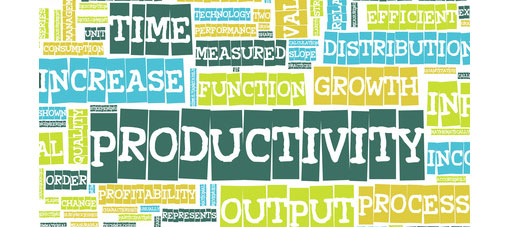 words to describe increased productivity