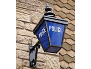 Old fashioned police light
