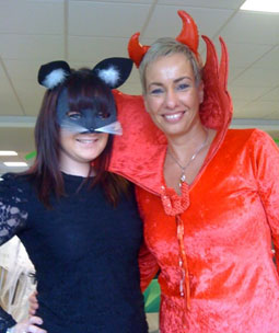 catwoman and the Devil