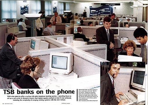 call centre ad