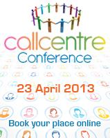 Call Centre Helper - CCconferenceButton 2013