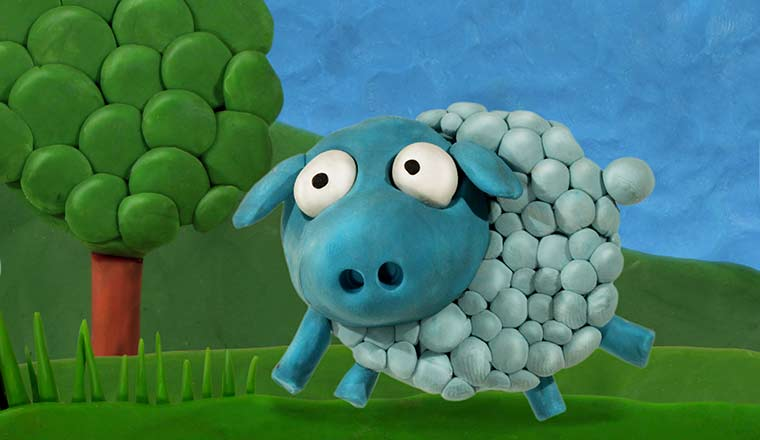 blue tac sheep