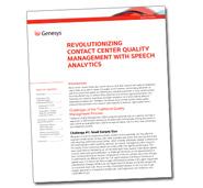 Genesys-Speech-Analytics