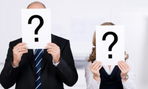 questions marks over peoples faces