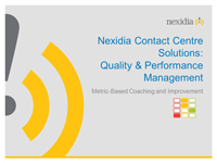 Webinar Slides: Best Practices in Performance and Quality Management by Jonathan Wax