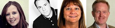 Sarah Quennell, Craig Baker, Maureen Szlemp and Dick Bourke