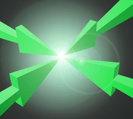 four-green-arrows