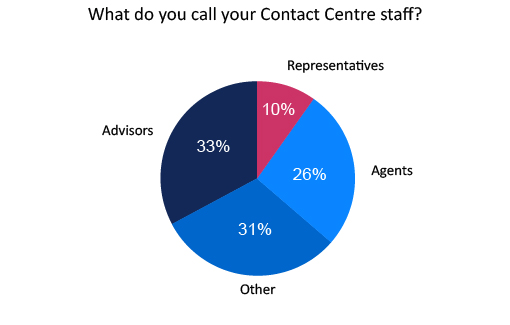 This poll was taken from our article: What Should We Call Frontline Call Centre Staff?