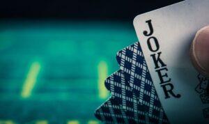 Pack of Cards showing Joker