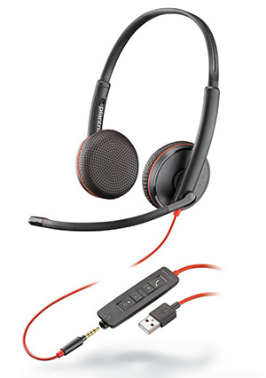Here is the Blackwire 3225 Headset