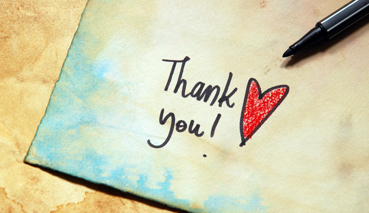 Write A Thank You Letter from www.callcentrehelper.com