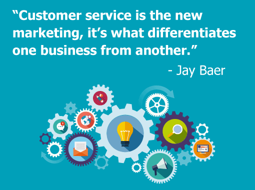 A picture of a Jay Baer quote
