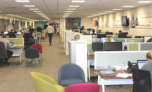 Take a look inside Vax's Droitwich contact centre