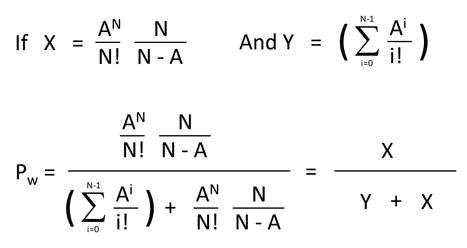 Simplify the Erlang C Formula