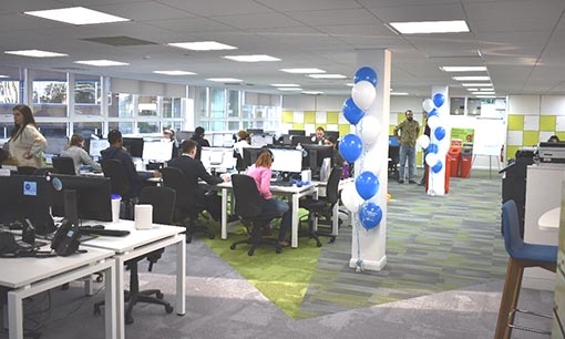 Take a look inside Domestic and General's contact centre