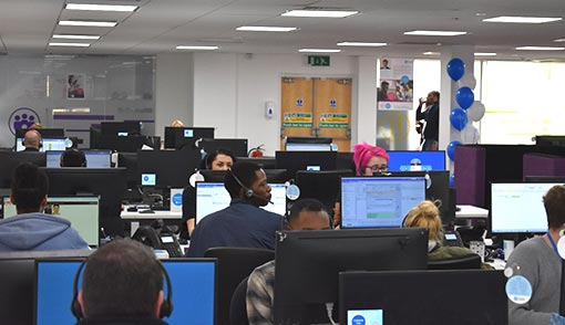 Here's a final peak into the Domestic & General contact centre