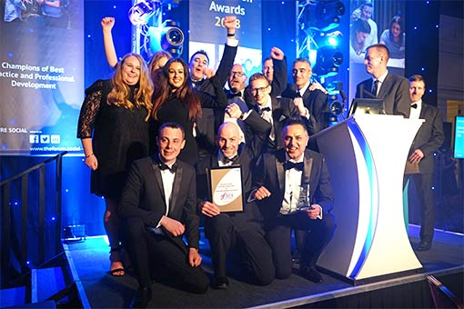 Financial Services Compensation Scheme won The Innovation Award for Achieving Customer Excellence