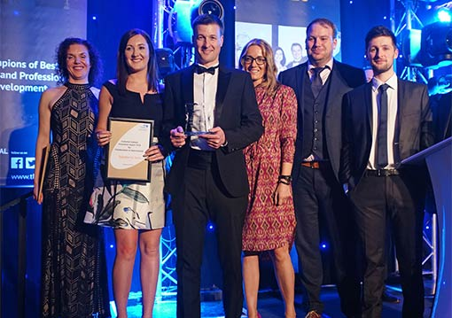 Sainsbury's Bank wonThe Innovation Award for Collaboration & Improvement