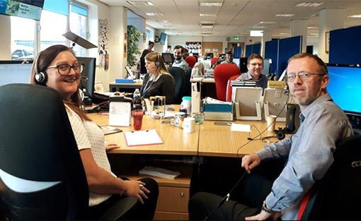 Take a look inside the DAS contact centre