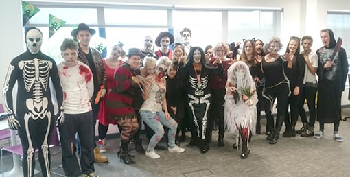 Vax's contact centre love to celebrate Halloween!