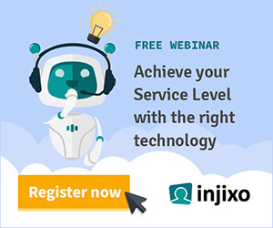 injixo webinar: achieve your service level with the right technology advert