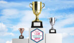 The top 10 contact centre technology award 2019 winners podium