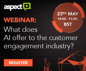 aspect webinar: what does AI offer to the customer engagement journey?