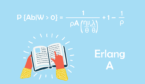 A picture of the Erlang A formula