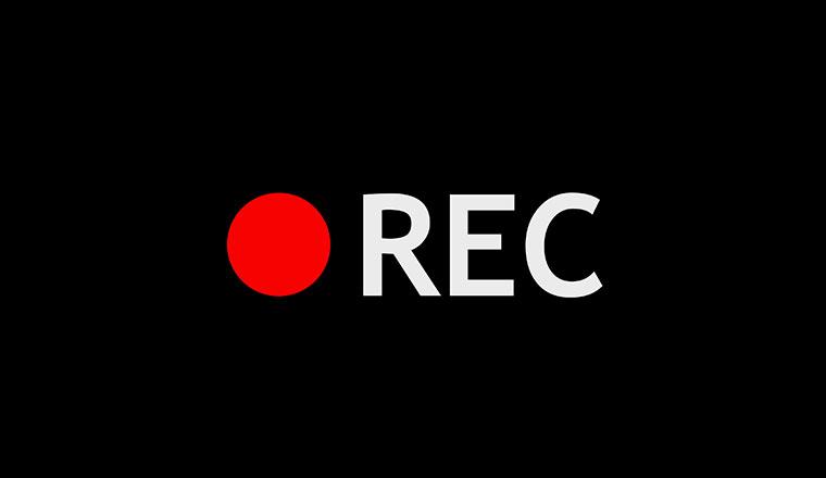 Record symbol. Digital illustration 3d rendering