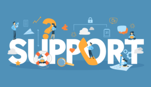 """A picture of the word """"support"""""""