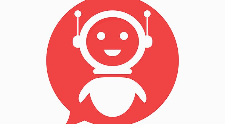 Chat Bot in a speech bubble