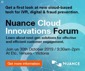 Nuance cloud innovations forum advert