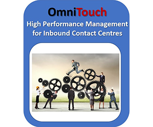 omnitouch high performance management for inbound contact centres