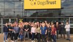 A group of people who work at the dogs trust call centre