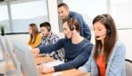 A picture of call centre agents